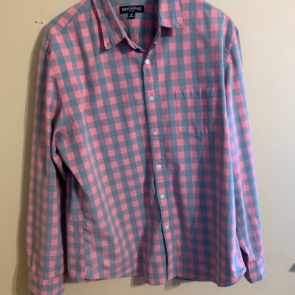 JCrew Gingham regular flex casual shirt XL
